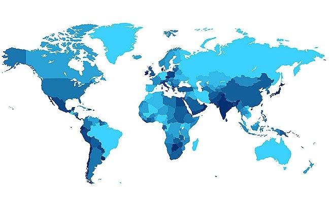 Показатели смертности от саркомы в мире